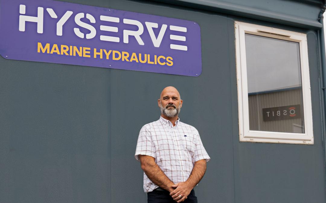 Hyserve Marine Drop Anchor At Port of Blyth